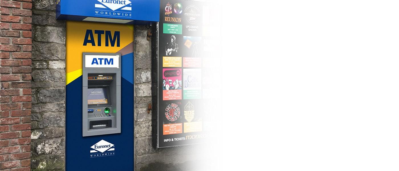 Oferiți clienților dvs. un serviciu suplimentar cu un bancomat Euronet.